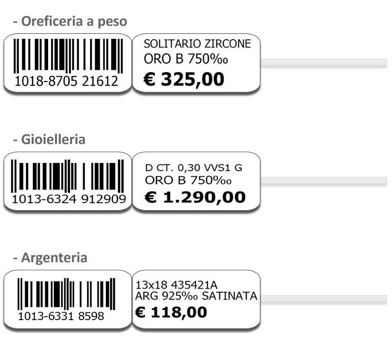 Programma Per Stampa Etichette Gioielli Software Eurogold